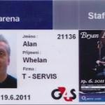 Audio System Team on Bryan Adams Prague O2 Arena 2011.